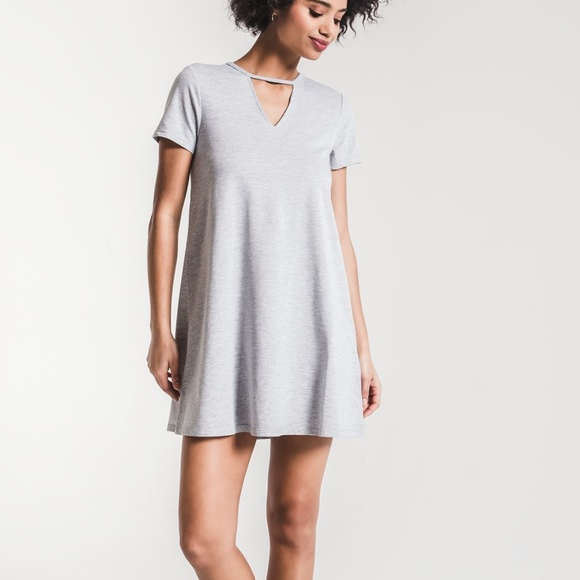 f90fb15bc1 Z Supply Dresses   The Front Cut Out Tshirt Dress   Poshmark